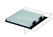 LR030219 LA288 Mahle Cabin Air Filter BTR8037